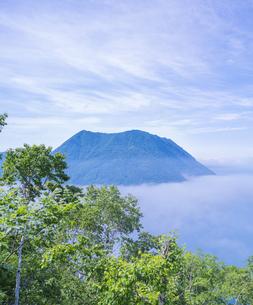 北海道 自然 風景 摩周湖 (裏摩周)の写真素材 [FYI04105035]