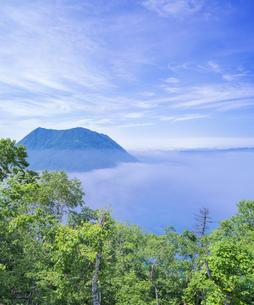 北海道 自然 風景 摩周湖 (裏摩周)の写真素材 [FYI04105041]