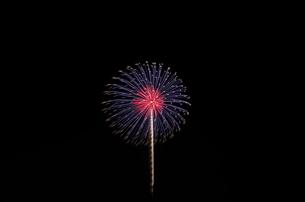 いせはら芸術花火大会 メッセージ花火の写真素材 [FYI04105428]