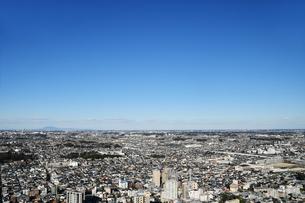 市川市のアイリンクタウンからの眺めの写真素材 [FYI04105769]