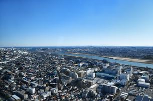 市川市のアイリンクタウンからの眺めの写真素材 [FYI04105771]