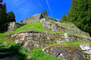 岩村城跡 六段壁の写真素材 [FYI04105897]