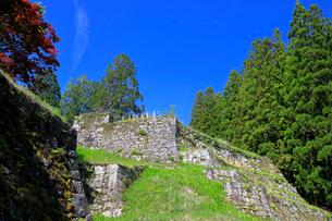 岩村城跡 六段壁の写真素材 [FYI04105900]