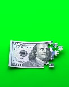 ドル紙幣のパズルのイラスト素材 [FYI04106064]