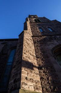 教会のタワーの写真素材 [FYI04106212]