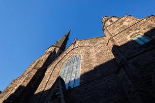 教会と青空の写真素材 [FYI04106219]