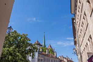 スイス、ジュネーブ旧市街、サン・ピエール大聖堂の写真素材 [FYI04106518]