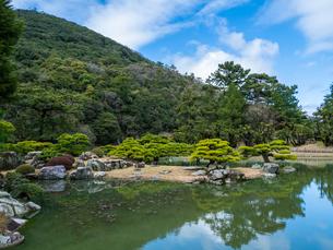 栗林公園 香川県高松市の写真素材 [FYI04106548]