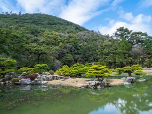 栗林公園 香川県高松市の写真素材 [FYI04106549]
