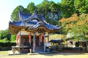 長福寺(向田観音堂)の写真素材 [FYI04106607]
