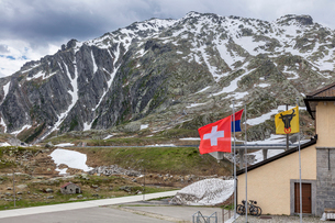 スイス、ゴッタルド峠の写真素材 [FYI04106616]