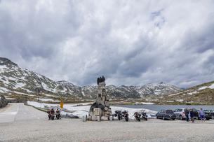 スイス、ゴッタルド峠の写真素材 [FYI04106617]
