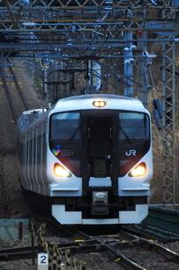 JR東日本 E257系の写真素材 [FYI04106644]