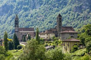 スイス、ジョルニコの風景の写真素材 [FYI04106683]
