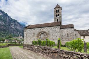 スイス、ジョルニコ、サン・ミシェルの写真素材 [FYI04106765]