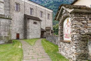 スイス、ジョルニコの風景の写真素材 [FYI04106767]