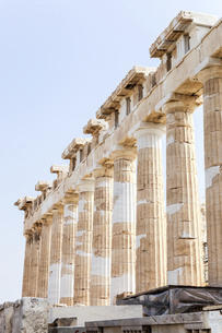 パルテノン神殿ドーリア式列柱の写真素材 [FYI04107179]