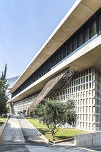 新アクロポリス博物館の写真素材 [FYI04107253]