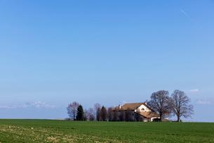 スイス、ジュネーブ近郊の田園風景の写真素材 [FYI04107699]