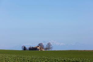 スイス、ジュネーブ近郊の田園風景の写真素材 [FYI04107712]