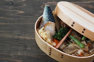 和食の弁当の写真素材 [FYI04107769]