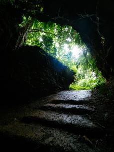 石垣島の洞窟の写真素材 [FYI04107794]