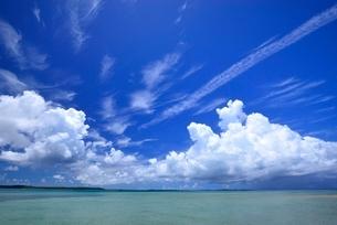 琉球列島宮古の海の写真素材 [FYI04107828]