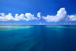 琉球列島宮古の海の写真素材 [FYI04107833]