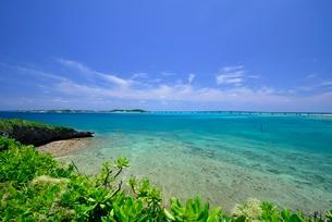 琉球列島宮古の海の写真素材 [FYI04107857]