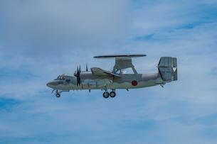 E-2C早期警戒機の写真素材 [FYI04107995]