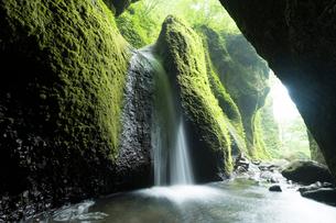 シワガラの滝の写真素材 [FYI04108110]