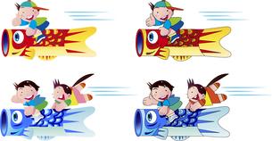 日本の行事の子供の日のイラスト素材 [FYI04108176]