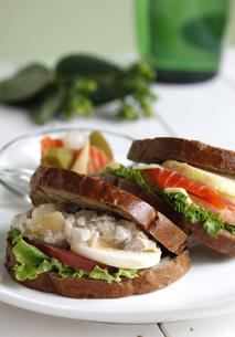 サンドイッチの写真素材 [FYI04108459]