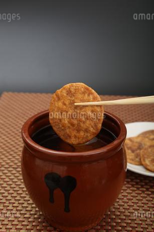 煎餅の写真素材 [FYI04108638]