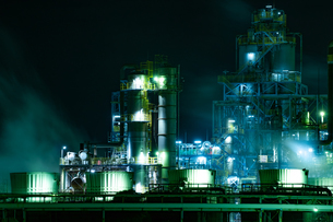 Hanshin industrial zoneの写真素材 [FYI04108657]