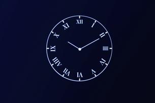 ローマ数字の時計の写真素材 [FYI04109592]