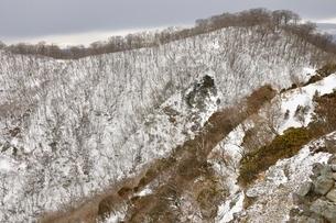 鍋割山稜と悪沢岳遠望の写真素材 [FYI04109816]