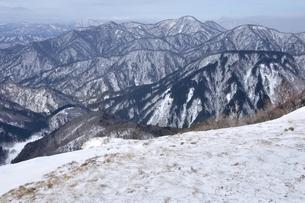 冬景色の西丹沢の写真素材 [FYI04109849]