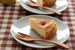 チーズケーキ ピースの写真素材 [FYI04110505]