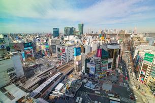 渋谷駅の写真素材 [FYI04110793]