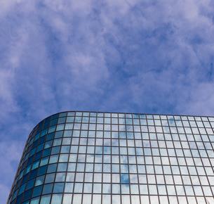 ガラス壁の写真素材 [FYI04110795]