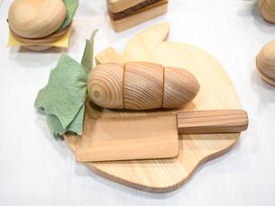 木製のおもちゃの写真素材 [FYI04111079]