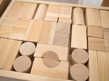 木製の積み木の写真素材 [FYI04111080]