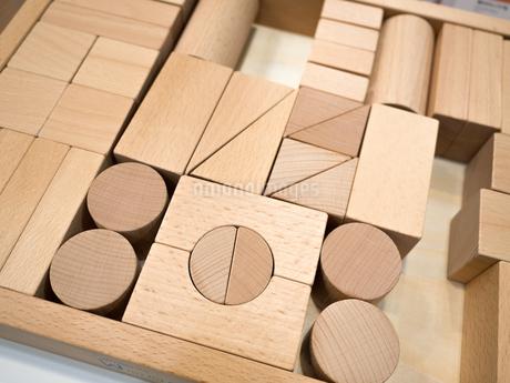 木製の積み木の写真素材 [FYI04111081]