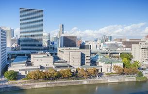 日本銀行大阪支店と新ダイビルの写真素材 [FYI04112003]