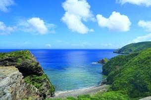座間味島 女瀬の崎展望台の写真素材 [FYI04112474]