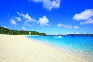 座間味島 古座間味ビーチの写真素材 [FYI04112518]