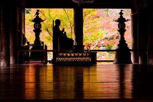 長谷寺の秋、2019。その5の写真素材 [FYI04113021]