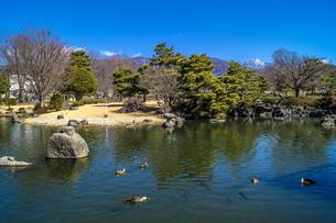 信州 長野県松本市 早春のあがたの森公園の写真素材 [FYI04114414]