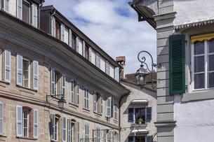 スイス、ジュネーブ近郊、コペの街並みの写真素材 [FYI04114788]